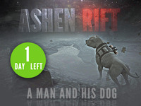 Ashen Rift: A man and his dog.