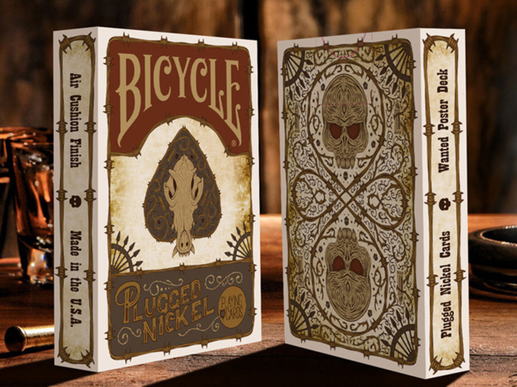 Plugged Nickel Playing Cards, printed by USPCC (Canceled)'s video poster
