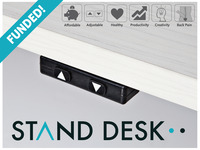 The most affordable, automatic sit-to-stand desk.