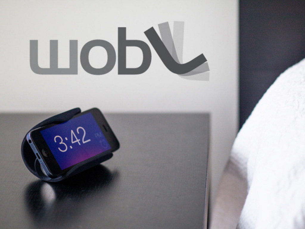 wobL - iPhone Stand and Alarm Clock App's video poster