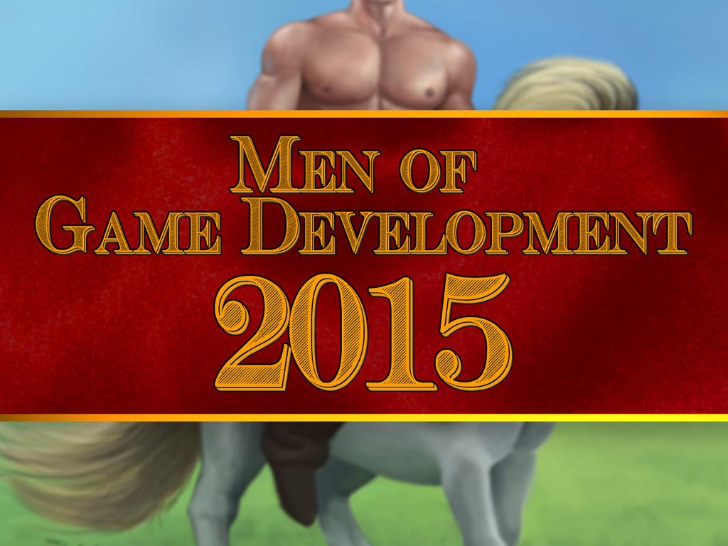 Men of Game Development 2015's video poster