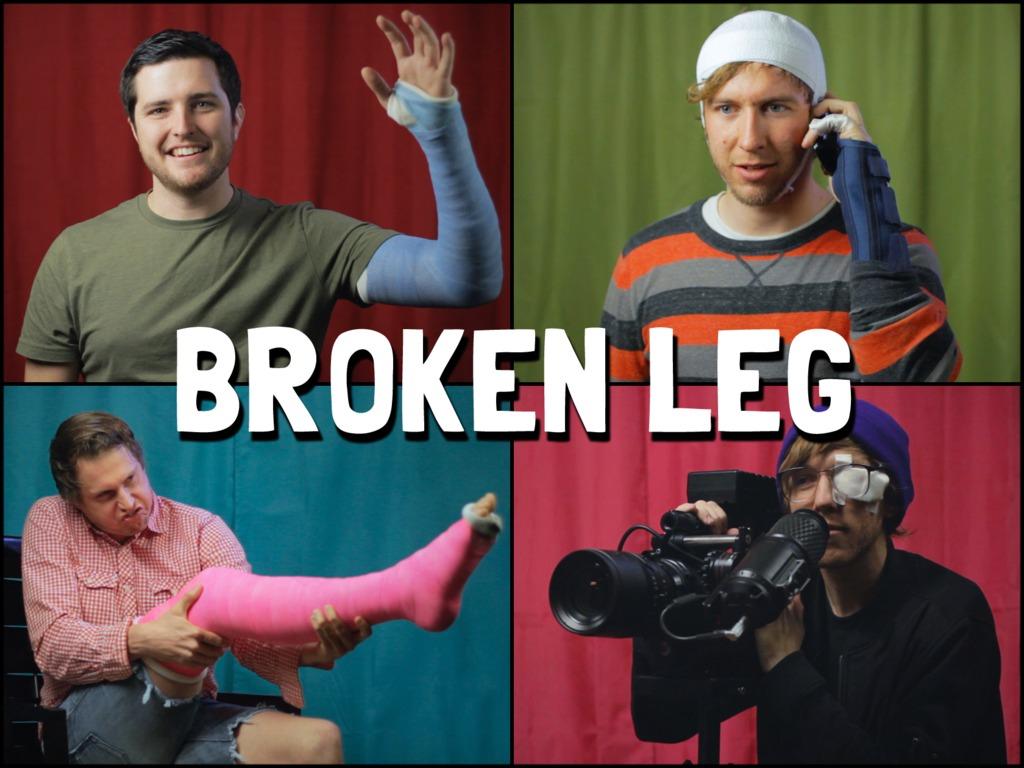 BROKEN LEG - Feature Film's video poster
