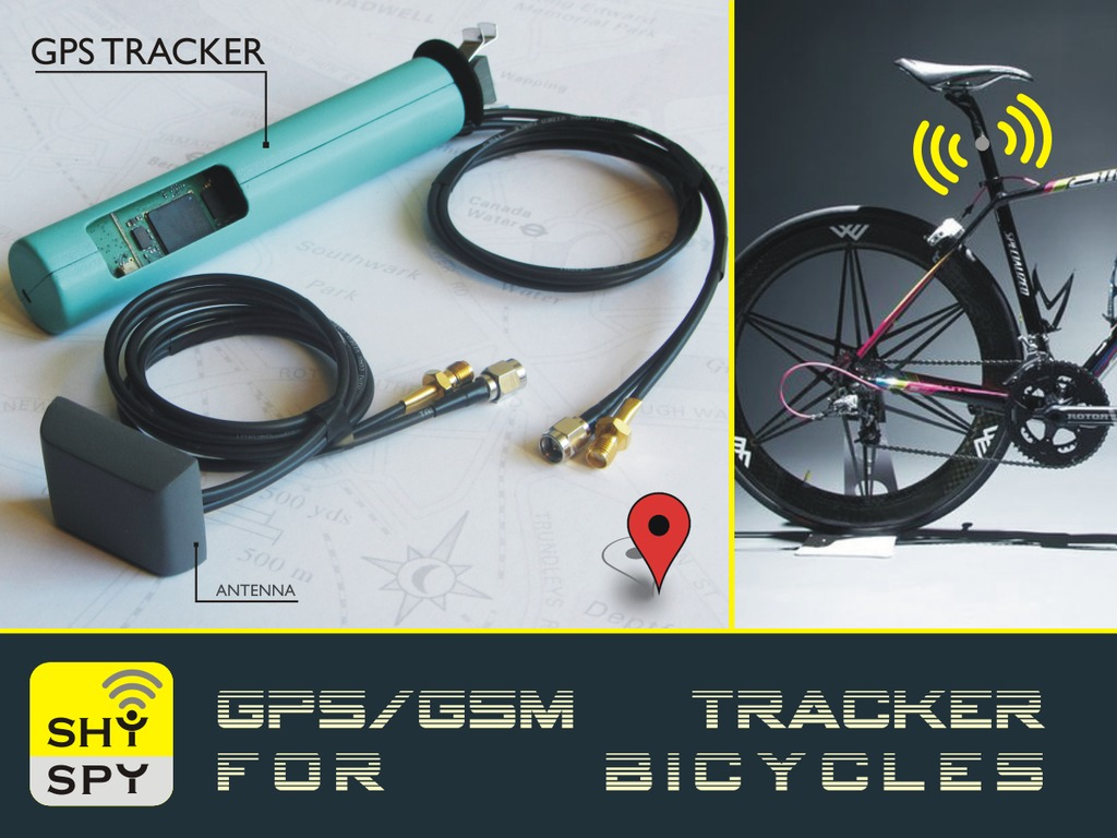 SHYSPY   GPS/GSM Tracker For Bicycles's video poster