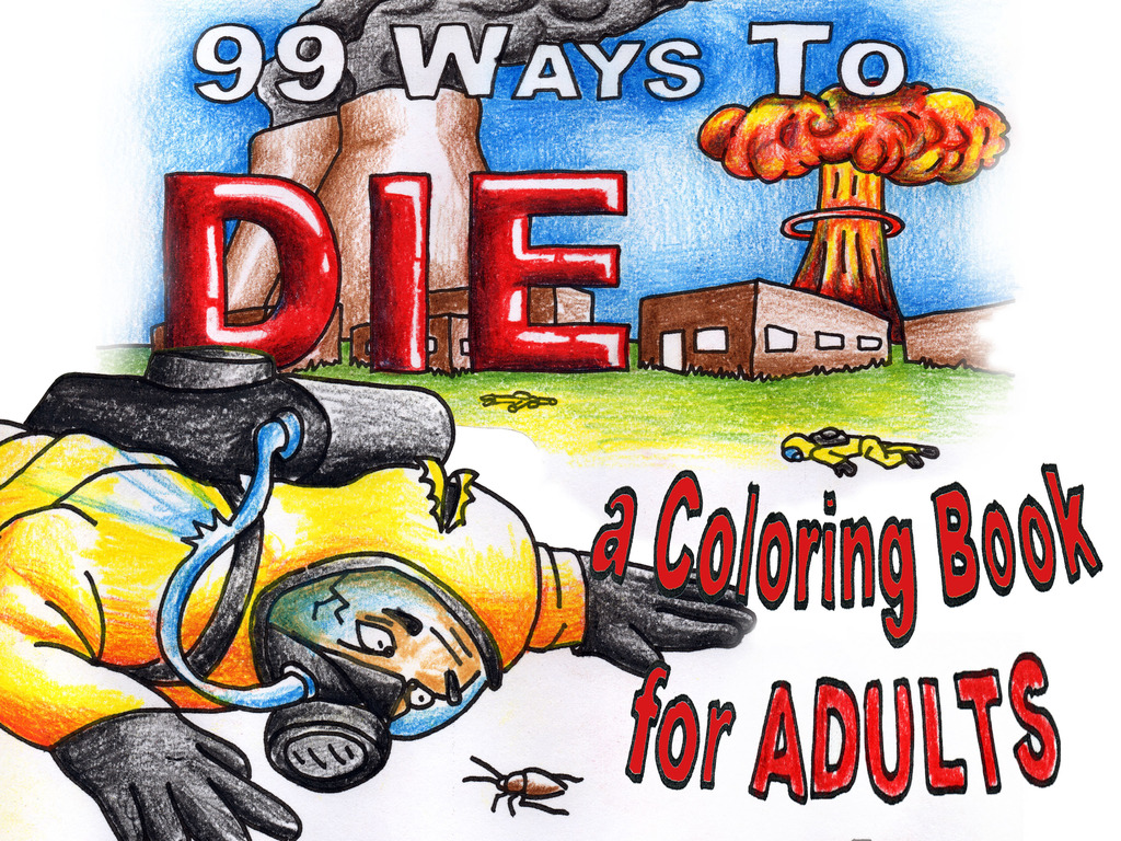 99 Ways To Die - A coloring book for ADULTS's video poster