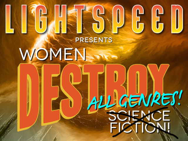 Women destroy science fiction