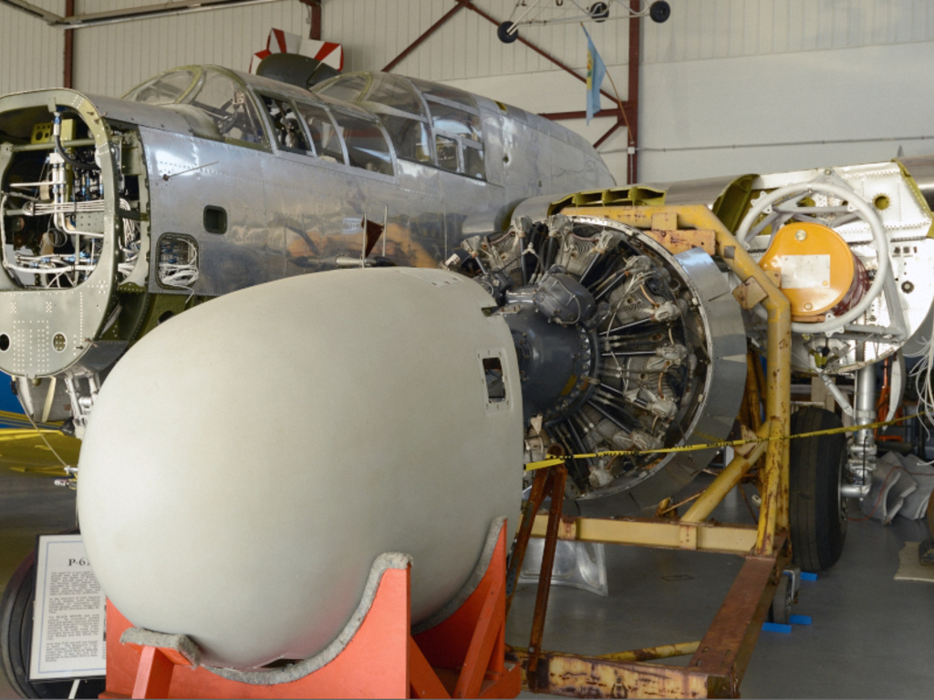 The P-61 'Black Widow' Restoration Project's video poster