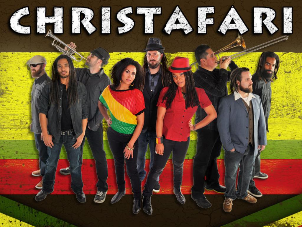 Christafari's New Reggae Worship Album's video poster