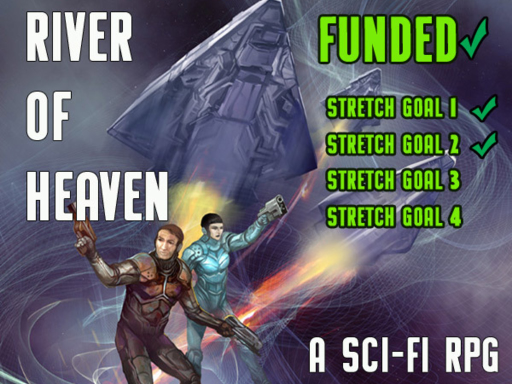 River of Heaven SF RPG's video poster