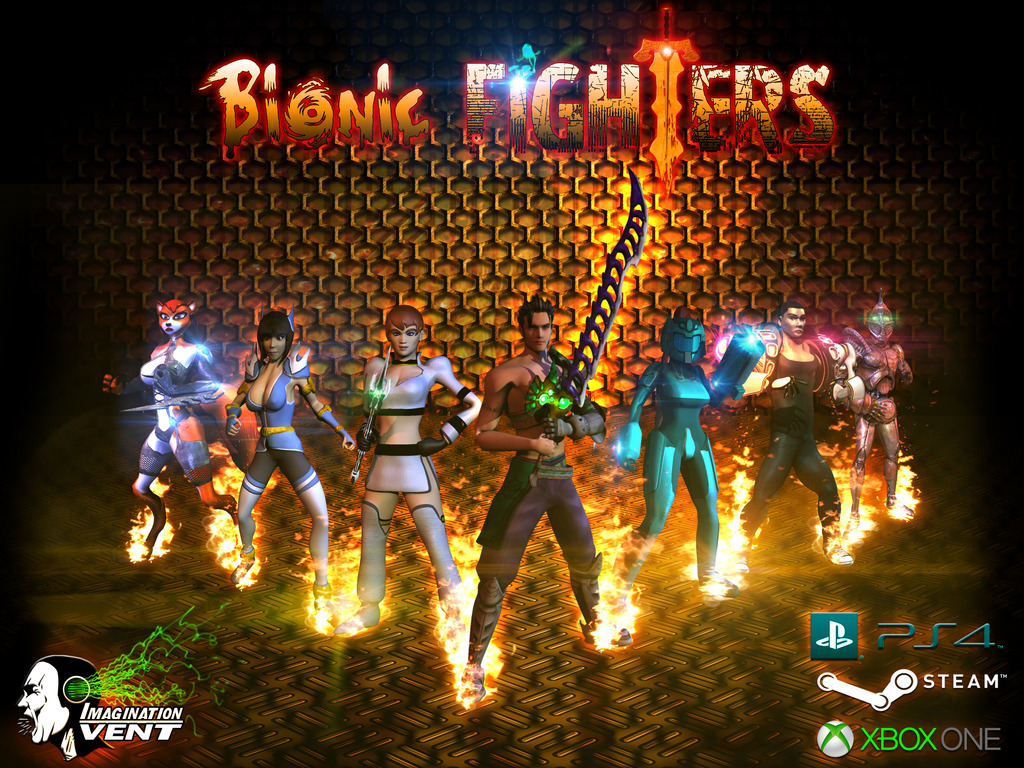 Bionic Fighters - multiplayer fighting game's video poster