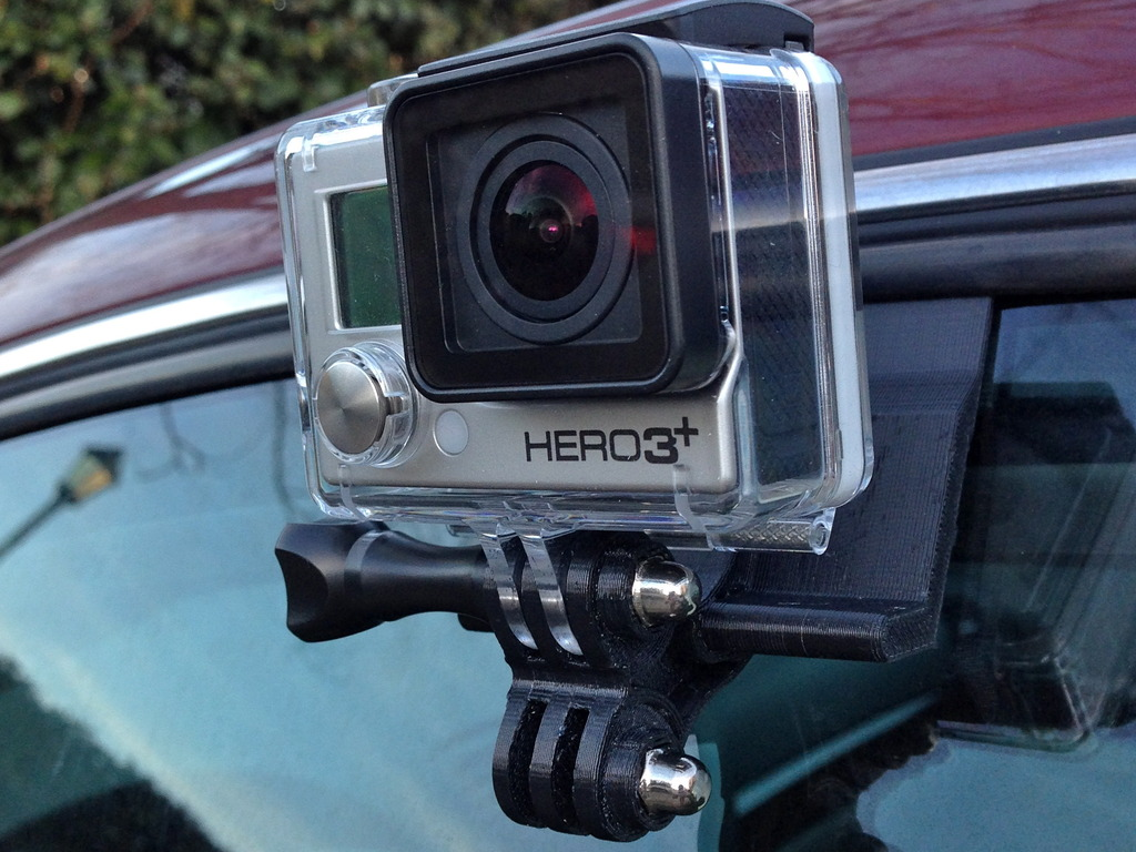 The Window-Wedge: A simple GoPro Car Mounting System's video poster