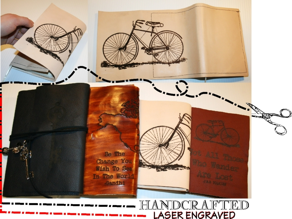 Handcrafted Journals - Laser Engraved & You Can Refill!'s video poster