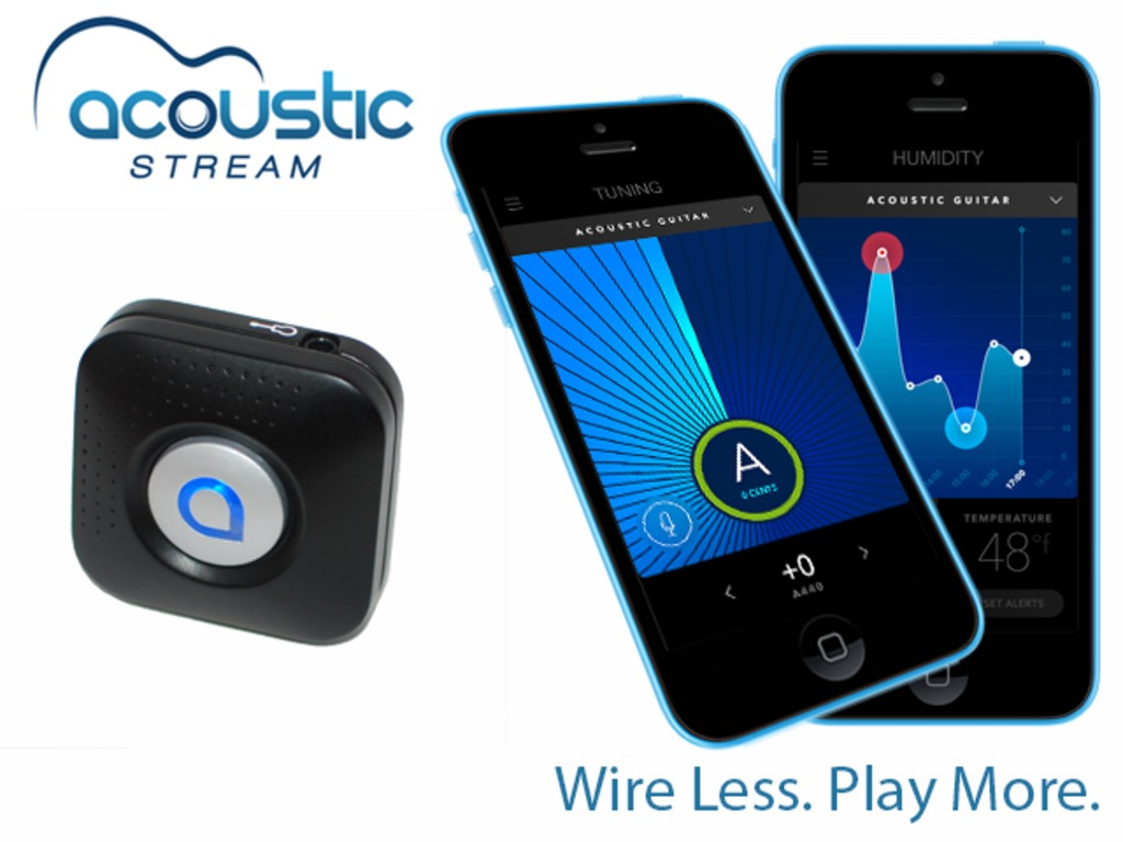 Acoustic Stream: the Guitarist's Wireless 4-in-1 Companion's video poster