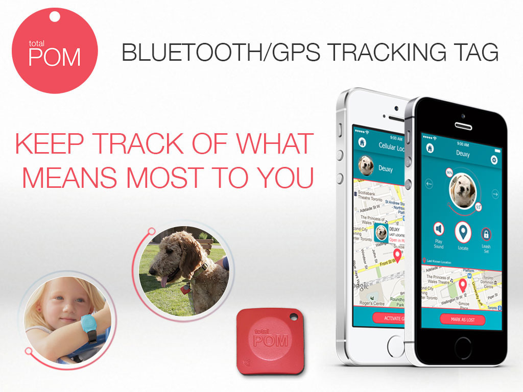 Total POM - Bluetooth GPS Tracking Chip for Peace Of Mind's video poster
