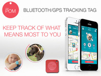 Total POM - Bluetooth GPS Tracking Chip for Peace Of Mind