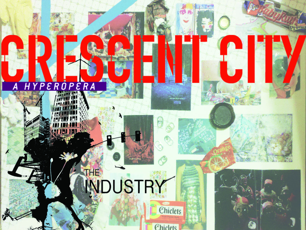 The Industry's World Premiere of Crescent City, a hyperopera's video poster