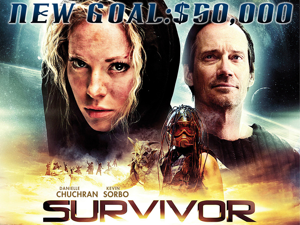 Survivor - a scifi feature starring Kevin Sorbo's video poster