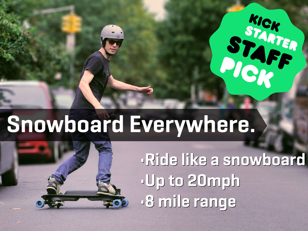 LEIF - the world's first eSnowboard by LEIFTech's video poster