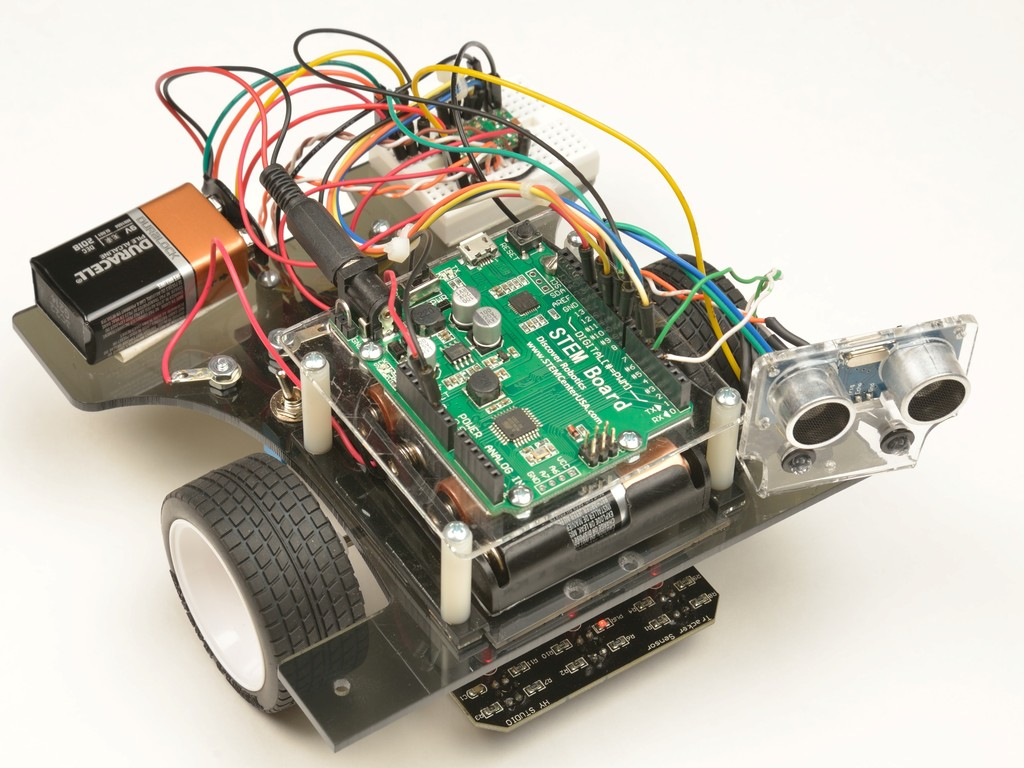 Pi-Bot: The Next Great Tool for Learning Arduino Robotics!'s video poster