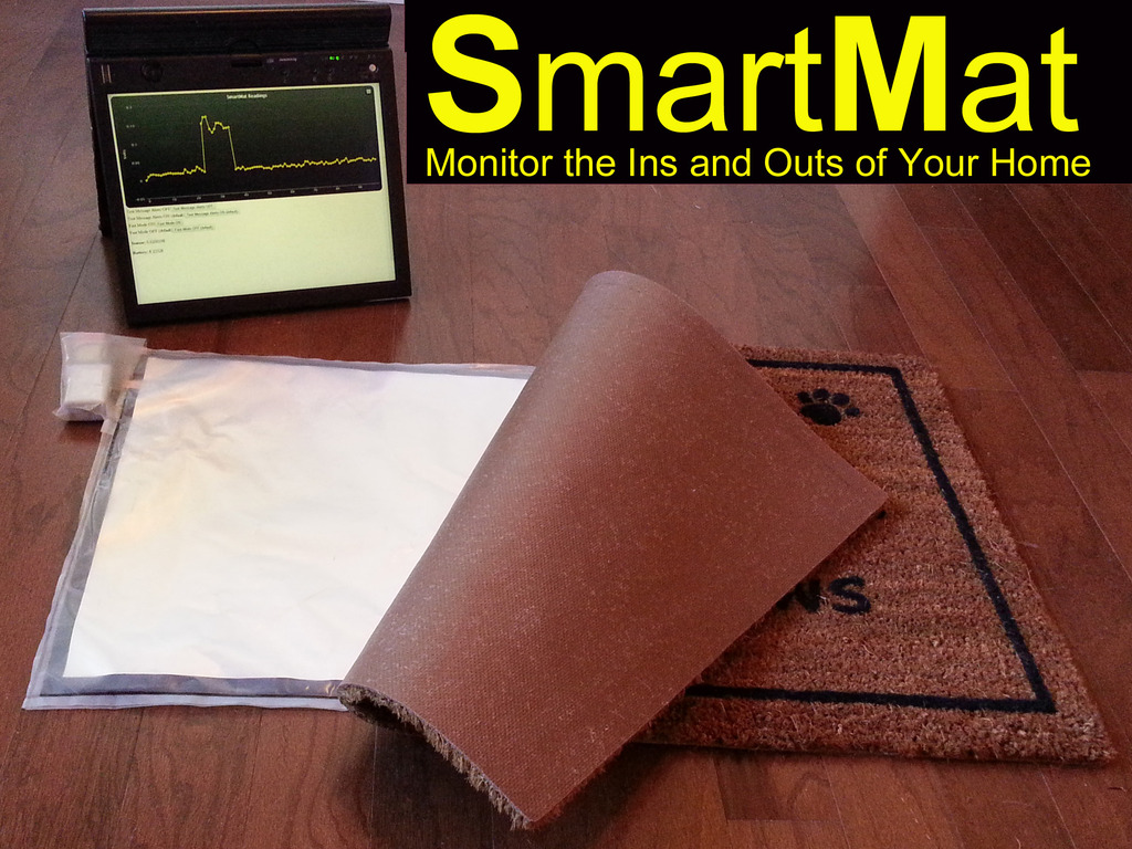 SmartMat: Wi-Fi floor mat that can alert mobile devices's video poster