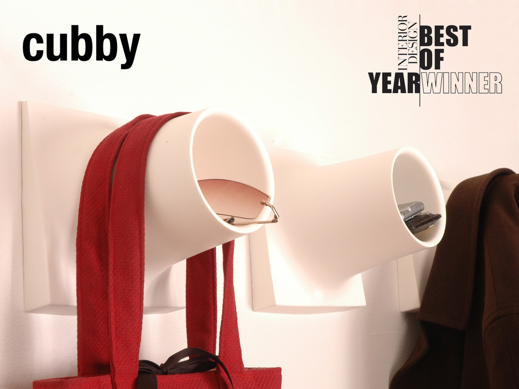 CUBBY : Award-winning Coat-hook + Storage Unit's video poster