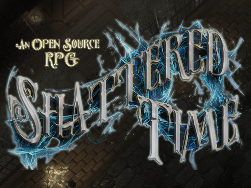 Shattered Time, Open Source CRPG's video poster