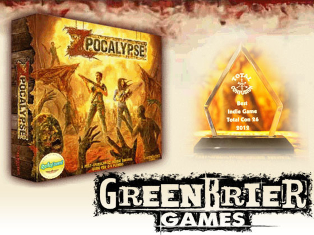 Zpocalypse: An Epic Zombie Survival Board Game's video poster