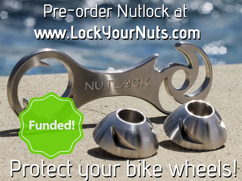 Nutlock: Outsmart thieves. Protect your bike wheels.'s video poster