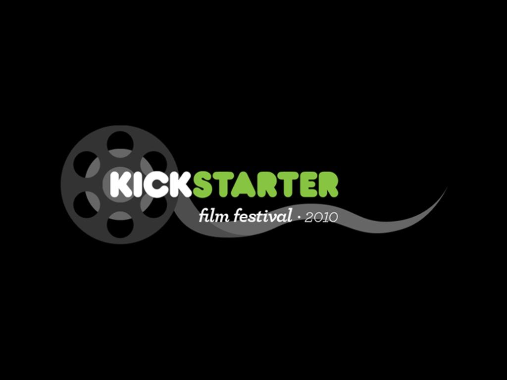 The Kickstarter Film Festival's video poster