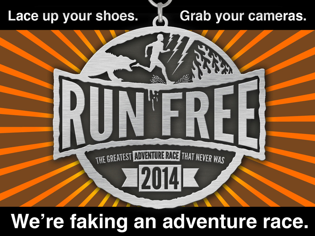 Run Free 2014 - The Greatest ADVENTURE RACE That Never Was's video poster