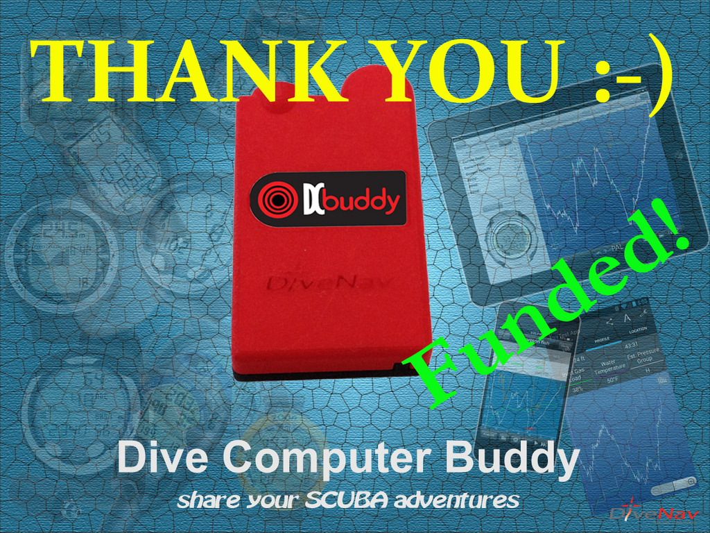 Dive Computer Buddy: share your SCUBA adventures's video poster