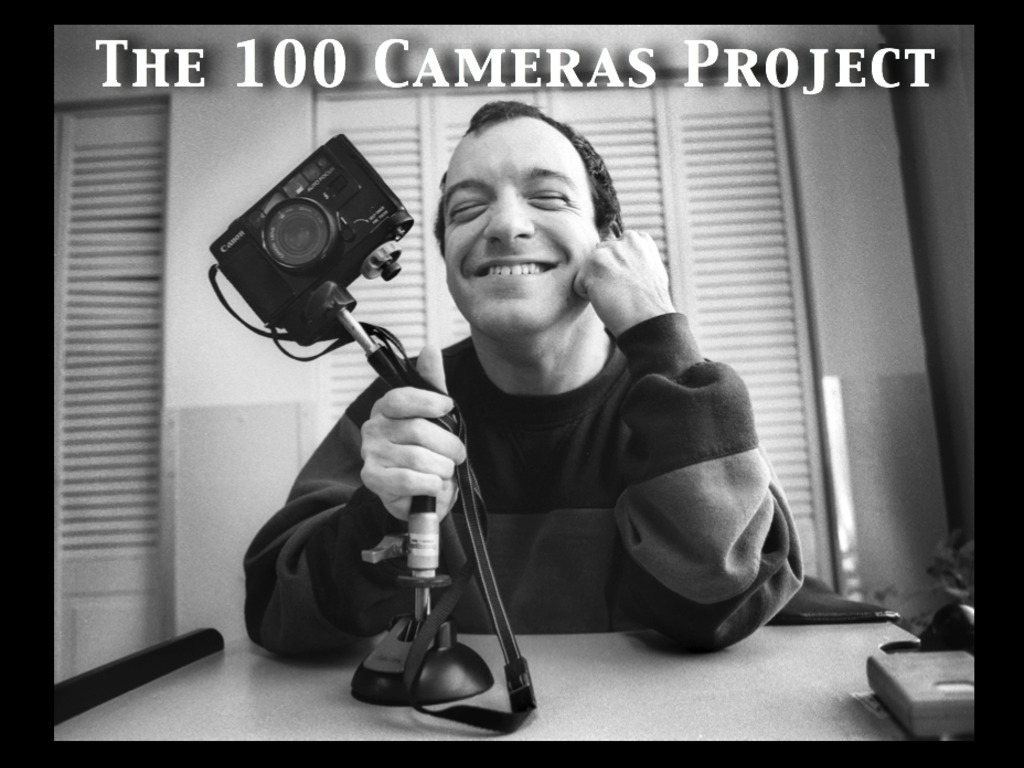 The 100 Cameras Project's video poster