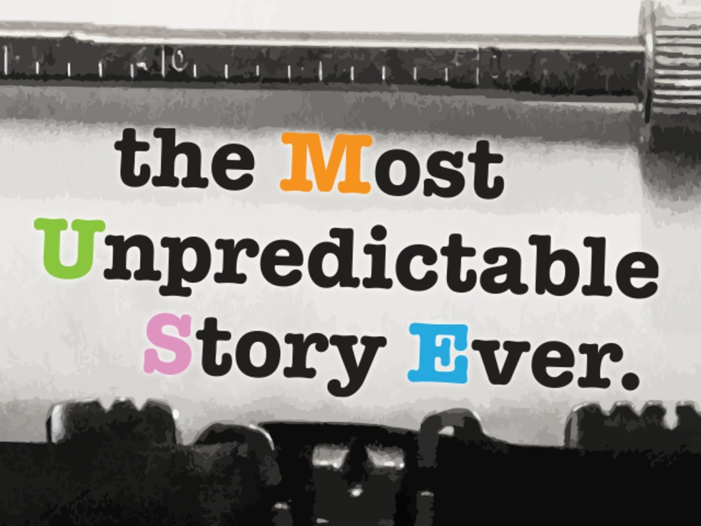 #MUSE – the Most Unpredictable Story Ever's video poster