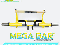 Mega Bar: The most versatile and affordable workout product.