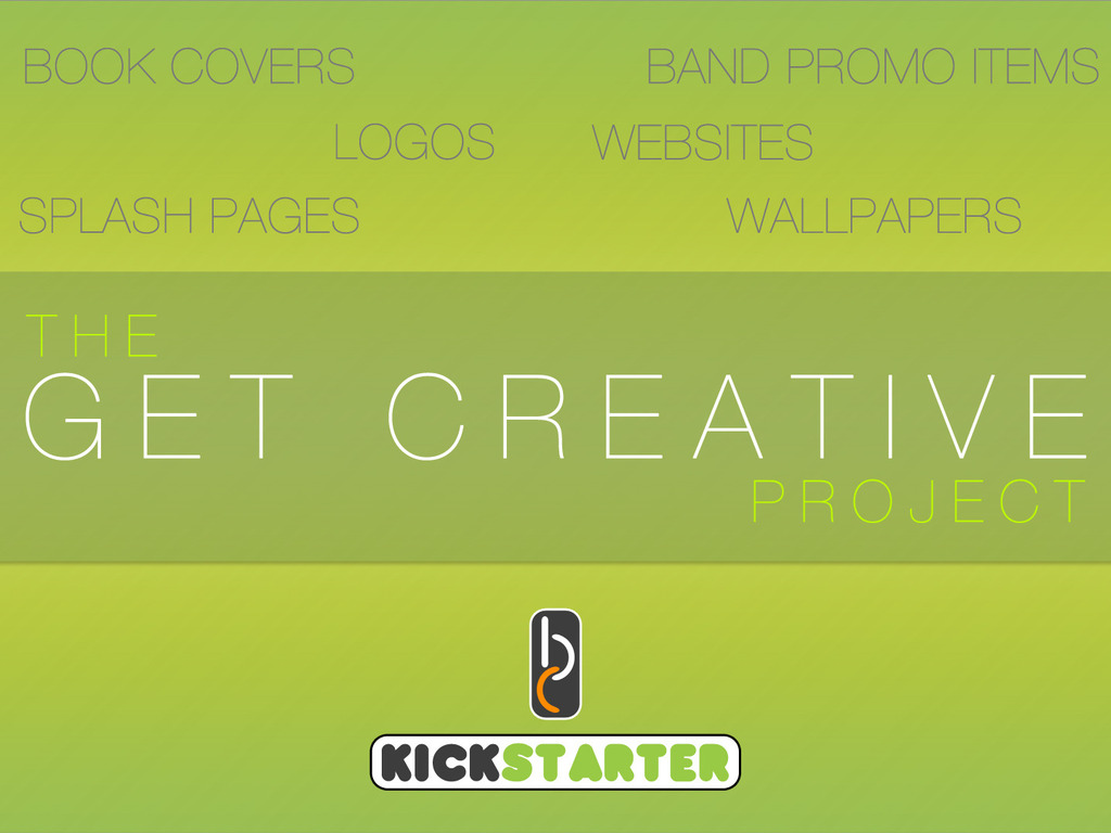 The Get Creative Project's video poster