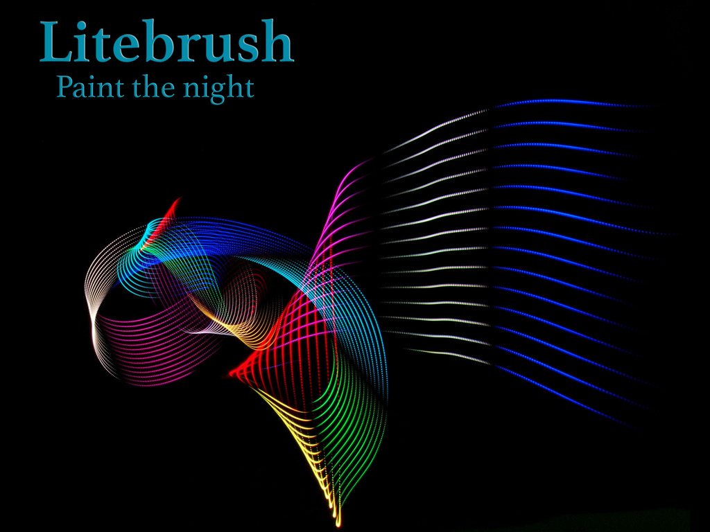 Litebrush - The Simple, Affordable Lightpainting Tool's video poster