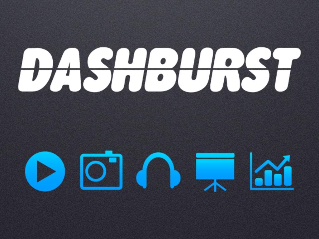 DashBurst: Where Social Media Meets Design's video poster