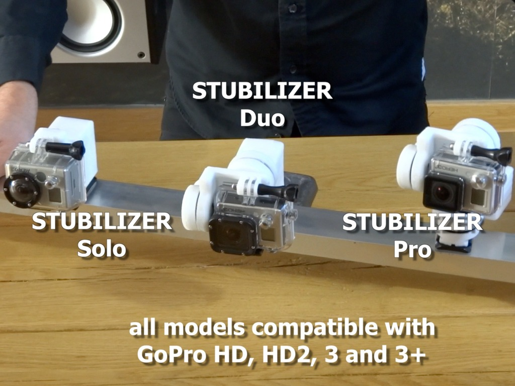 Stubilizer - the video stabilizer for the action sport junky's video poster