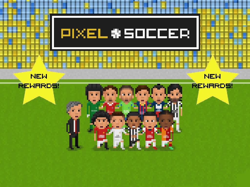 Pixel Soccer's video poster