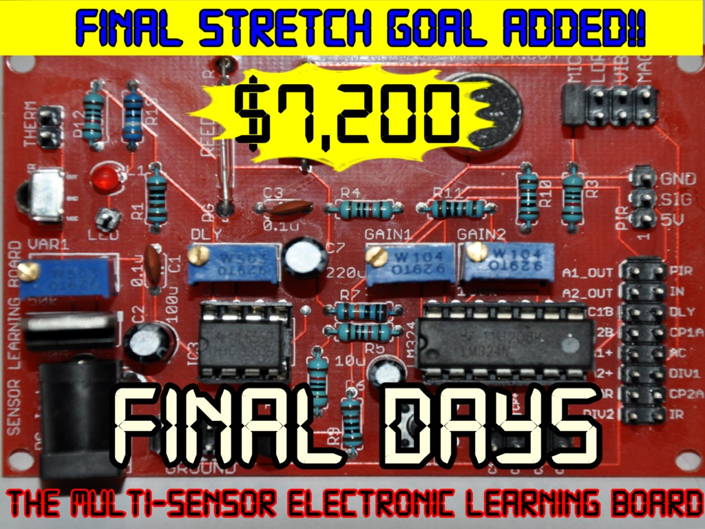 The Arduino Compatible Educational Sensor Learning Board's video poster