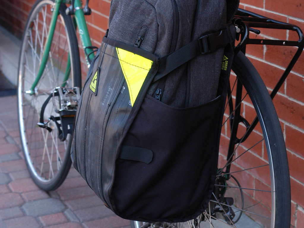 FreeRider: Pannier for Urban Bike Commuting Made in USA's video poster