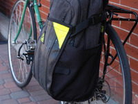 FreeRider: Pannier for Urban Bike Commuting Made in USA