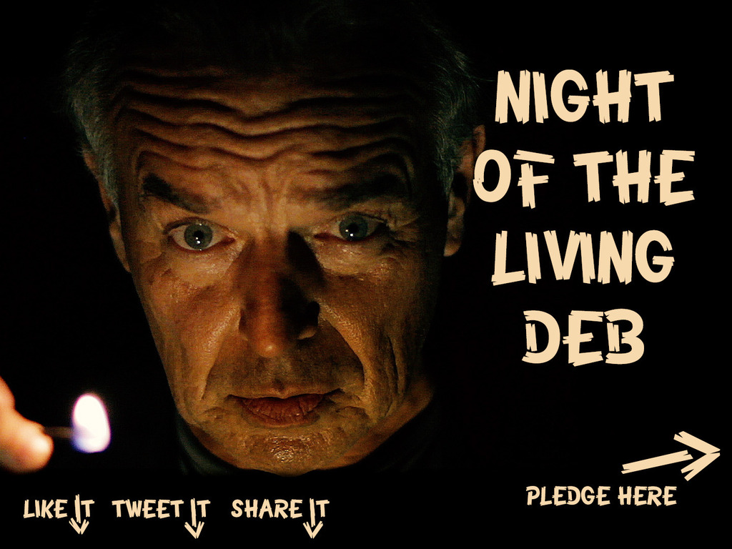 """Night of the Living Deb"" – a feature film's video poster"