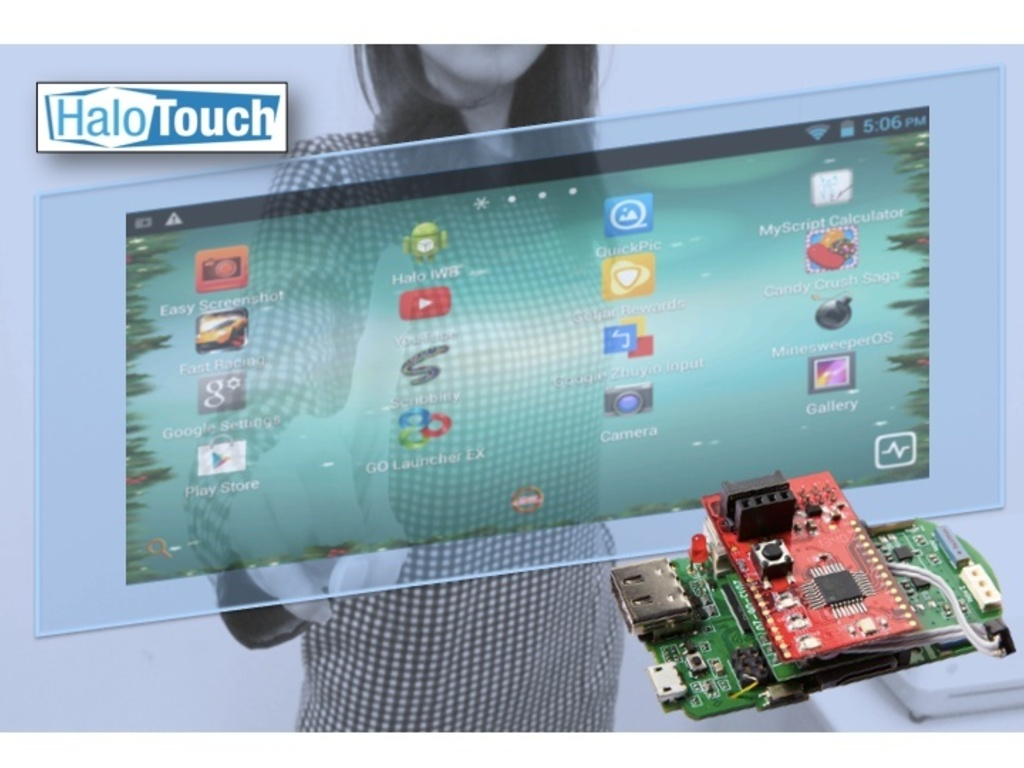 HaloTouch - A New Way to Interact with Android Devices!'s video poster