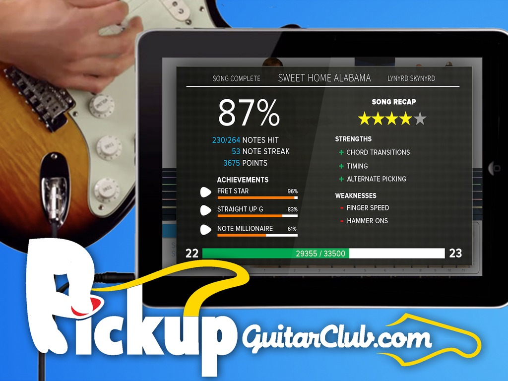Pickup Guitar Club: A New Way To Learn Guitar's video poster