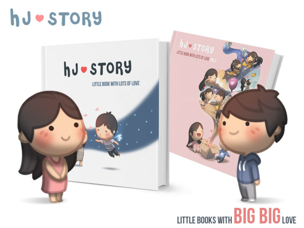 HJ-Story Book Vol.1 & 2's video poster