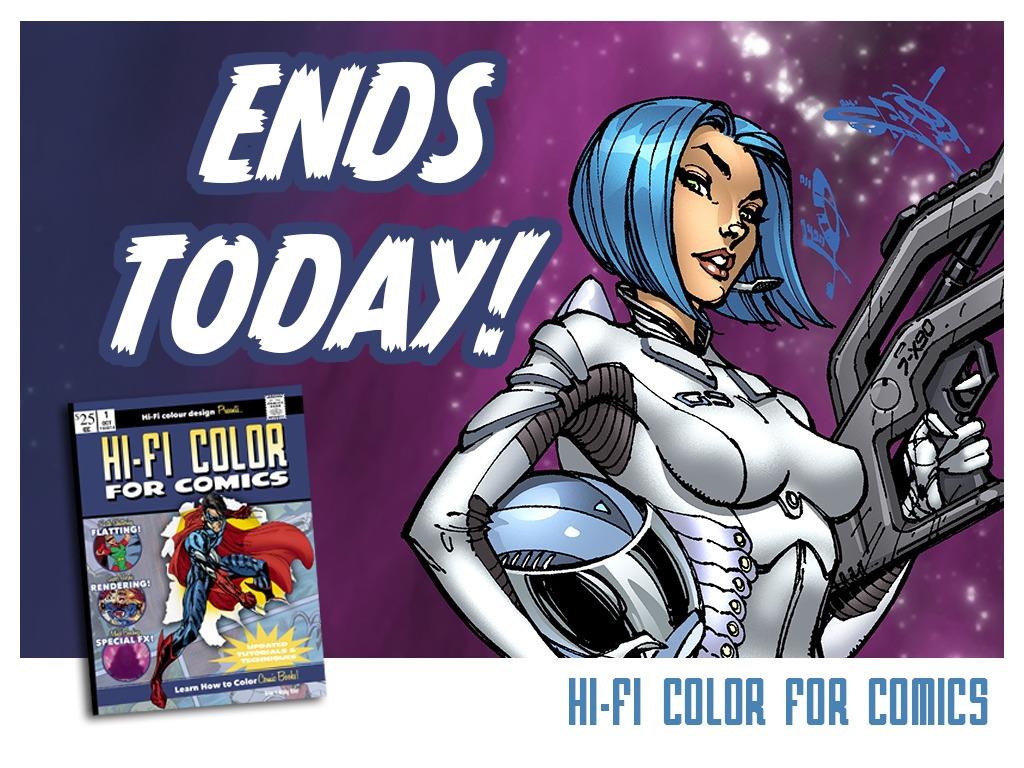 Hi-Fi Color for Comics's video poster