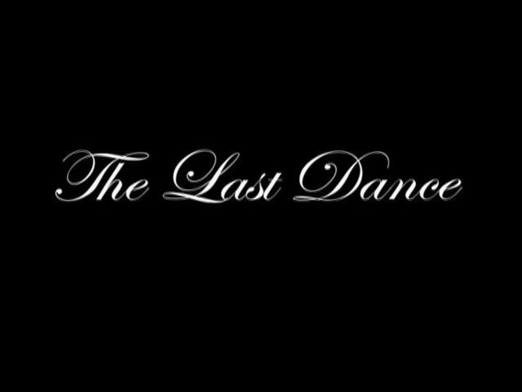The Last Dance's video poster