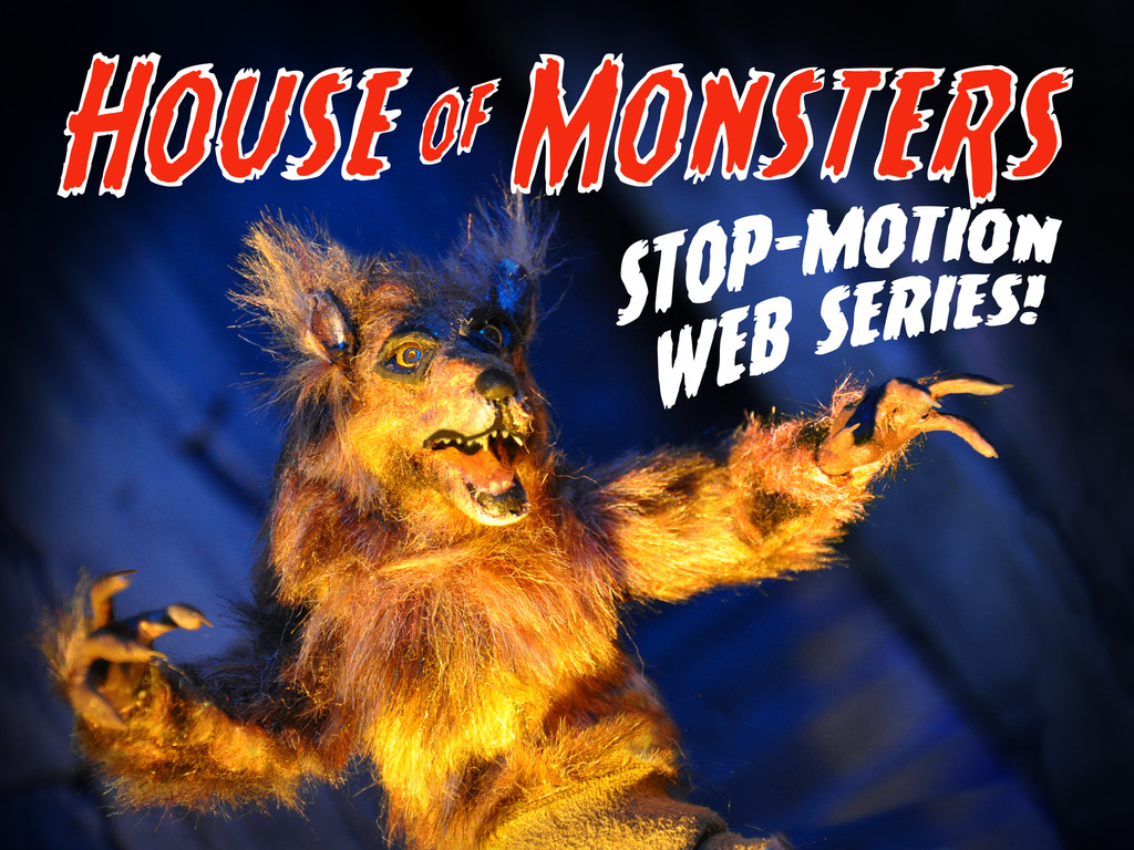 HOUSE OF MONSTERS: the stop-motion web series!'s video poster