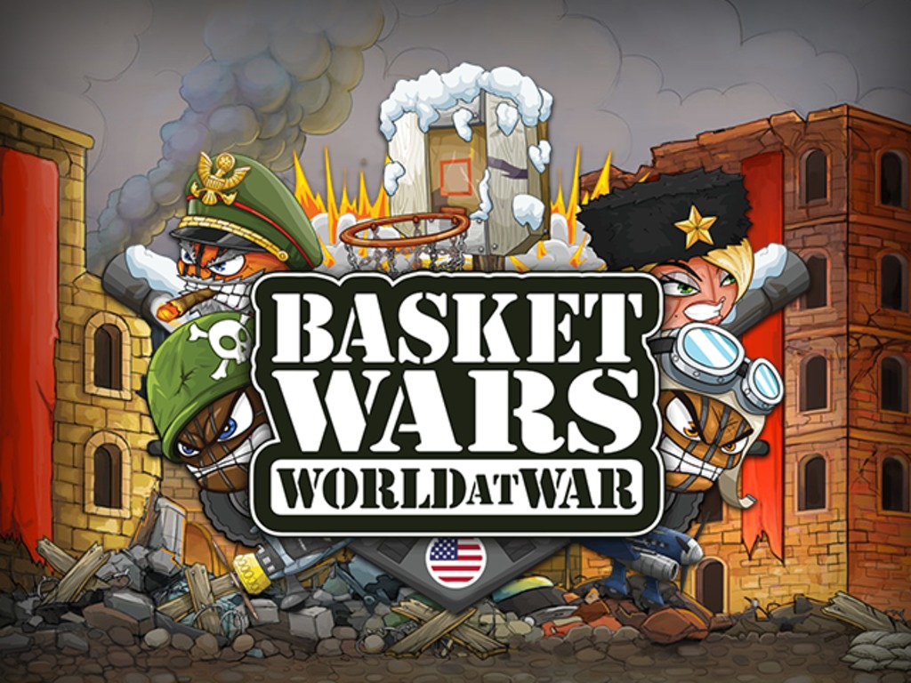 BasketWars: World at War for iOS's video poster