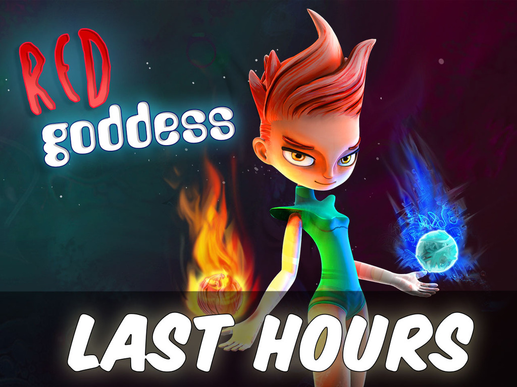 Red goddess's video poster